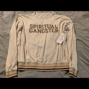 Spiritual gangster long sleeve super soft top